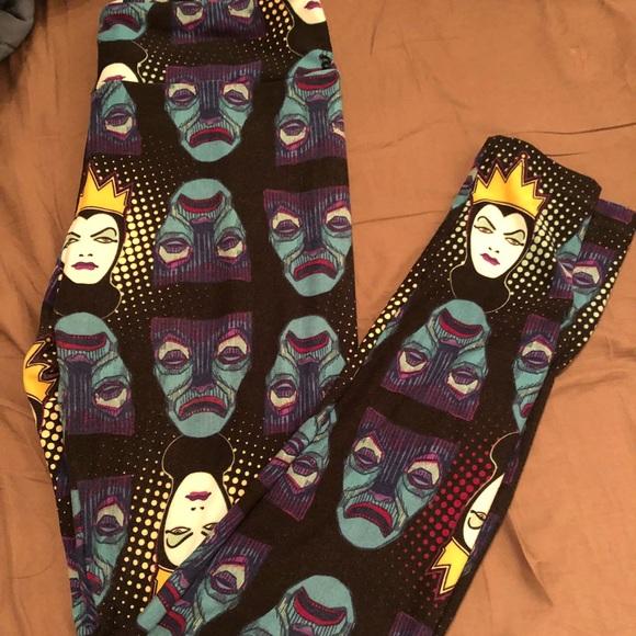 eff6f63085c442 LuLaRoe Pants | Disney Nwot Size Os Evil Queen Leggings | Poshmark
